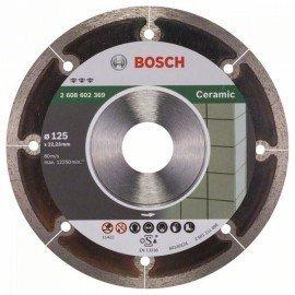 Bosch Best for Ceramic Extraclean gyémánt darabolótárcsa 125 x 22,23 x 1,2 x 5 mm