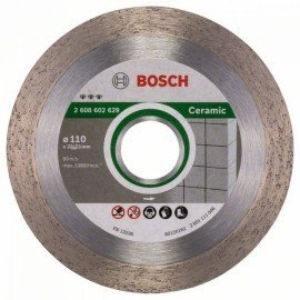 Bosch Best for Ceramic gyémánt darabolótárcsák 110 x 22,23 x 1,8 x 10 mm