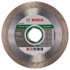 Bosch Best for Ceramic gyémánt darabolótárcsák 115 x 22,23 x 1,8 x 10 mm