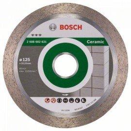 Bosch Best for Ceramic gyémánt darabolótárcsák 125 x 22,23 x 1,8 x 10 mm