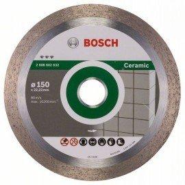 Bosch Best for Ceramic gyémánt darabolótárcsák 150 x 22,23 x 1,9 x 10 mm