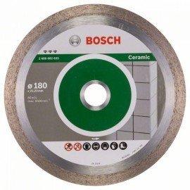 Bosch Best for Ceramic gyémánt darabolótárcsák 180 x 22,23 x 2,2 x 10 mm