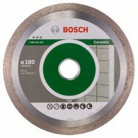 Bosch Best for Ceramic gyémánt darabolótárcsák 180 x 25,40 x 2,2 x 10 mm