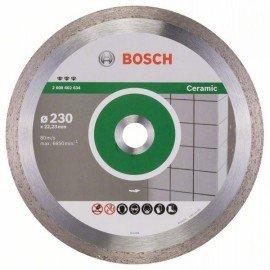 Bosch Best for Ceramic gyémánt darabolótárcsák 230 x 22,23 x 2,4 x 10 mm