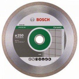 Bosch Best for Ceramic gyémánt darabolótárcsák 250 x 30/25,40 x 2,4 x 10 mm