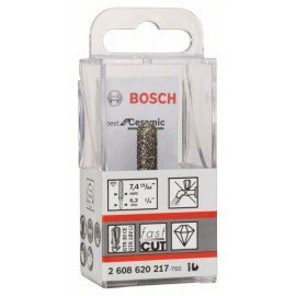 Bosch Best for Ceramic gyémántmarók 6,35 mm; D 7,4 mm; L 35