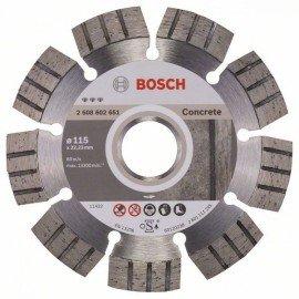 Bosch Best for Concrete gyémánt darabolótárcsák 115 x 22,23 x 2,2 x 12 mm