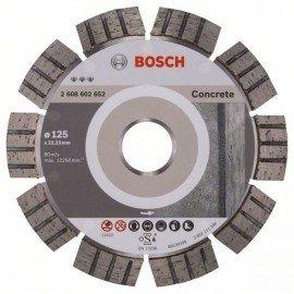 Bosch Best for Concrete gyémánt darabolótárcsák 125 x 22,23 x 2,2 x 12 mm