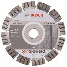 Bosch Best for Concrete gyémánt darabolótárcsák 150 x 22,23 x 2,4 x 12 mm