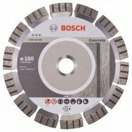 Bosch Best for Concrete gyémánt darabolótárcsák 180 x 22,23 x 2,4 x 12 mm