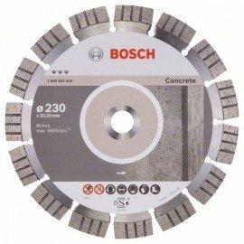 Bosch Best for Concrete gyémánt darabolótárcsák 230 x 22,23 x 2,4 x 15 mm
