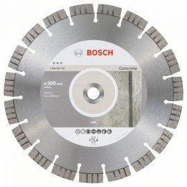 Bosch Best for Concrete gyémánt darabolótárcsák 300 x 20,00 x 2,8 x 15 mm