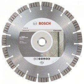 Bosch Best for Concrete gyémánt darabolótárcsák 300 x 25,40 x 2,8 x 15 mm