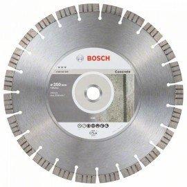 Bosch Best for Concrete gyémánt darabolótárcsák 350 x 25,40 x 3,2 x 15 mm