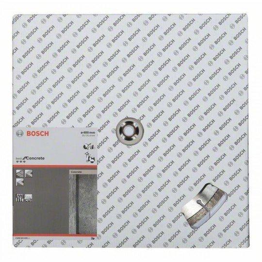 Bosch Best for Concrete gyémánt darabolótárcsák 400 x 20,00 + 25,40 x 3,2 x 12 mm