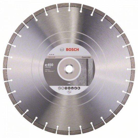 Bosch Best for Concrete gyémánt darabolótárcsák 450 x 25,40 x 3,6 x 12 mm