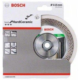 Bosch Best for Hard Ceramic gyémánt darabolótárcsa 115x22,23x1.4x10