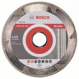 Bosch Best for Marble gyémánt darabolótárcsák 125 x 22,23 x 2,2 x 3 mm