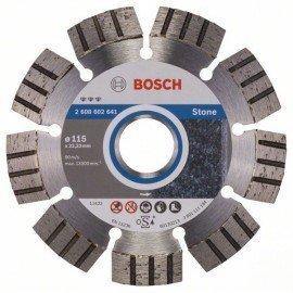Bosch Best for Stone gyémánt darabolótárcsák 115 x 22,23 x 2,2 x 12 mm