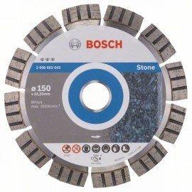Bosch Best for Stone gyémánt darabolótárcsák 150 x 22,23 x 2,4 x 12 mm