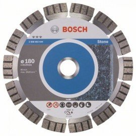 Bosch Best for Stone gyémánt darabolótárcsák 180 x 22,23 x 2,4 x 12 mm