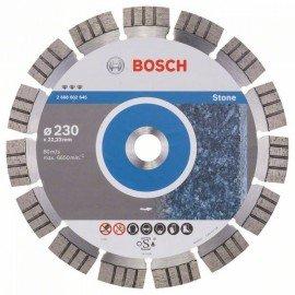 Bosch Best for Stone gyémánt darabolótárcsák 230 x 22,23 x 2,4 x 15 mm