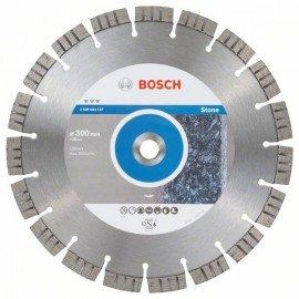 Bosch Best for Stone gyémánt darabolótárcsák 300 x 20,00 x 2,8 x 15 mm