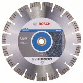 Bosch Best for Stone gyémánt darabolótárcsák 300 x 20,00+25,40 x 2,8 x 15 mm