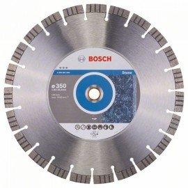 Bosch Best for Stone gyémánt darabolótárcsák 350 x 20,00+25,40 x 3,2 x 15 mm