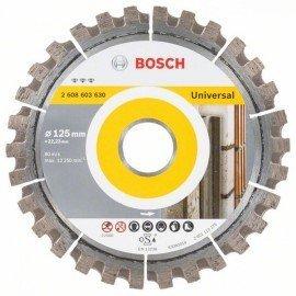 Bosch Best for Universal gyémánt darabolótárcsa 125 x 22,23 x 2,2 x 12 mm