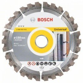Bosch Best for Universal gyémánt darabolótárcsa 150 x 22,23 x 2,4 x 12 mm