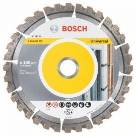 Bosch Best for Universal gyémánt darabolótárcsa 180 x 22,23 x 2,4 x 12 mm