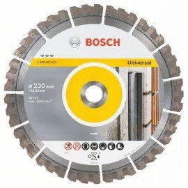 Bosch Best for Universal gyémánt darabolótárcsa 230 x 22,23 x 2,4 x 15 mm
