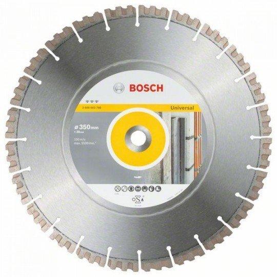 Bosch Best for Universal gyémánt darabolótárcsa 350 x 20,00 x 3,3 x 15 mm