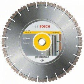 Bosch Best for Universal gyémánt darabolótárcsa 350 x 25,40 x 3,3 x 15 mm