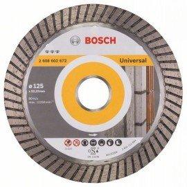 Bosch Best for Universal Turbo gyémánt darabolótárcsák 125 x 22,23 x 2,2 x 12 mm