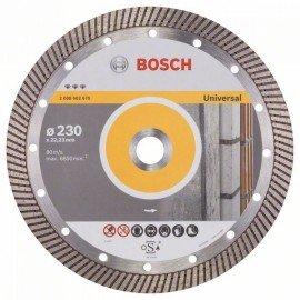 Bosch Best for Universal Turbo gyémánt darabolótárcsák 230 x 22,23 x 2,5 x 15 mm