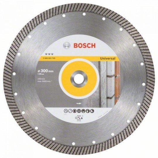 Bosch Best for Universal Turbo gyémánt darabolótárcsák 300 x 20,00 x 3 x 15 mm
