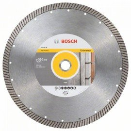 Bosch Best for Universal Turbo gyémánt darabolótárcsák 350 x 25,40 x 3,2 x 15 mm