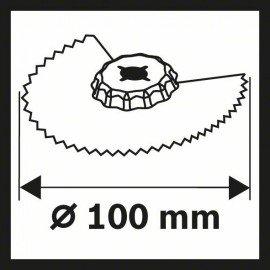 Bosch BIM SACZ 100 BB Wood and Metal szegmens fűrészlap 100 mm
