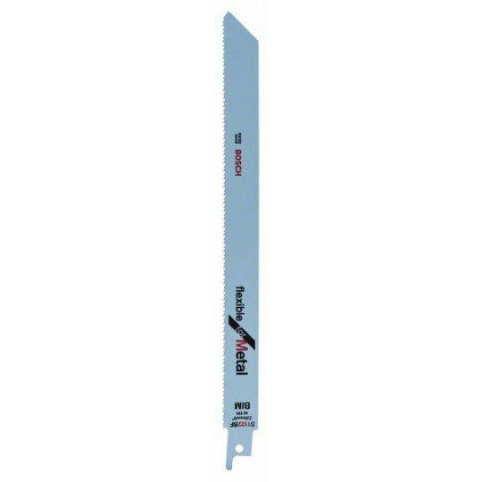 Bosch Bimetál szablyafűrészlap, S 1122 BF Flexible for Metal