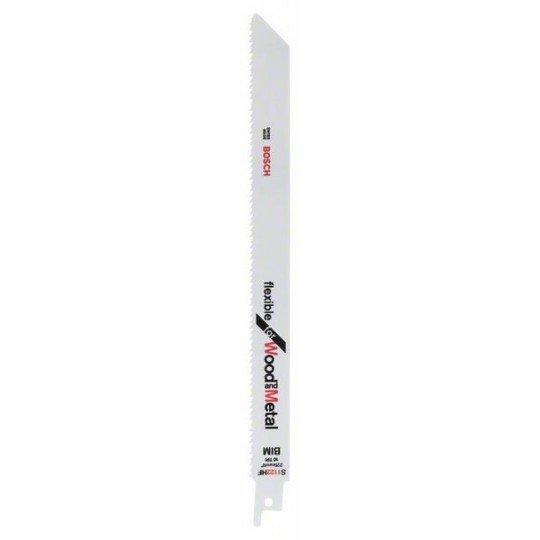 Bosch Bimetál szablyafűrészlap, S 1122 HF Flexible for Wood and Metal
