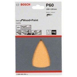 Bosch C470 csiszolólap, 10-es csomag 100x150 mm, 60