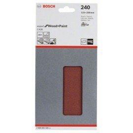 Bosch C470 csiszolólap, 10-es csomag 115 x 230 mm, 240