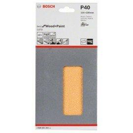 Bosch C470 csiszolólap, 10-es csomag 115 x 230 mm, 40