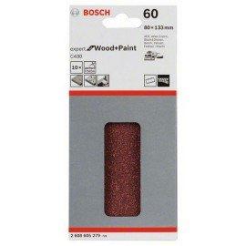 Bosch C470 csiszolólap, 10-es csomag 80 x 133 mm, 60