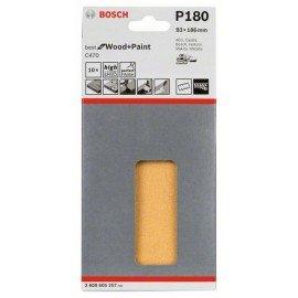 Bosch C470 csiszolólap, 10-es csomag 93 x 186 mm, 180