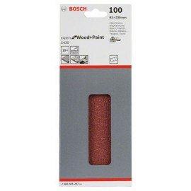 Bosch C470 csiszolólap, 10-es csomag 93 x 230 mm, 100