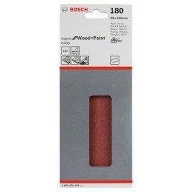 Bosch C470 csiszolólap, 10-es csomag 93 x 230 mm, 180
