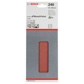 Bosch C470 csiszolólap, 10-es csomag 93 x 230 mm, 240